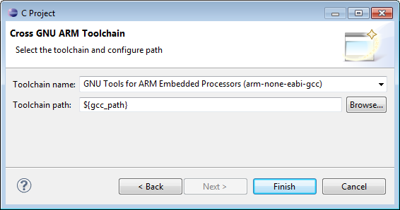 Cross GNU ARM Toolchain