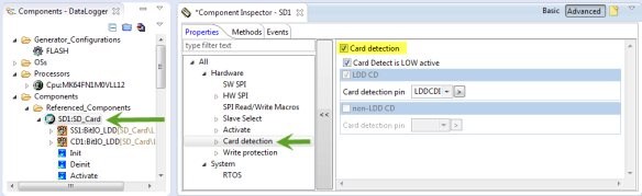 Enable Card Detection Pin