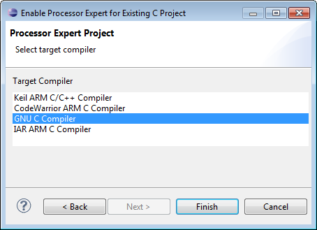 Frdm K64f Pe Eclipse Project Create A Da