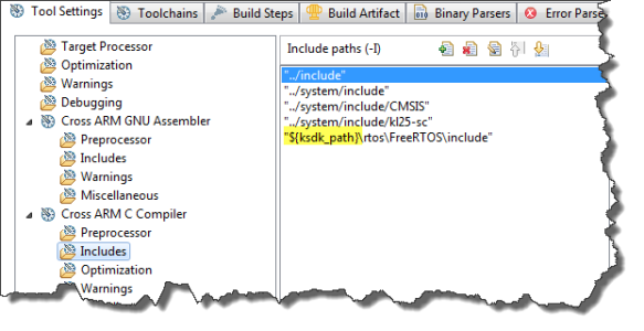 ksdk_path in compiler settings