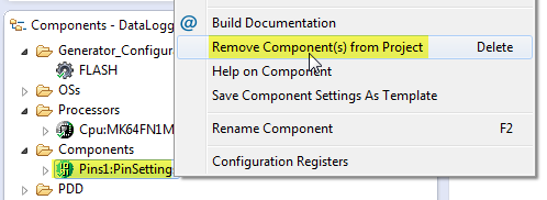 PinSettings Component