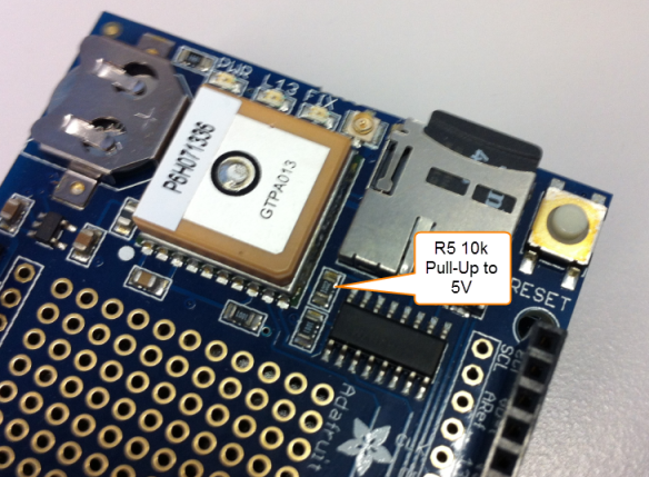 R5 Pull-Up to 5V