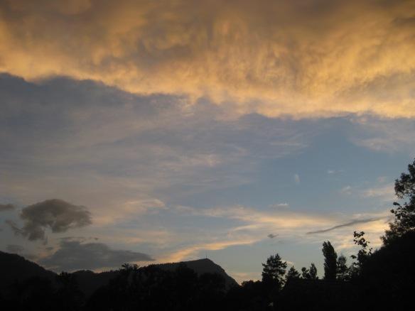 Blue Cloud Window