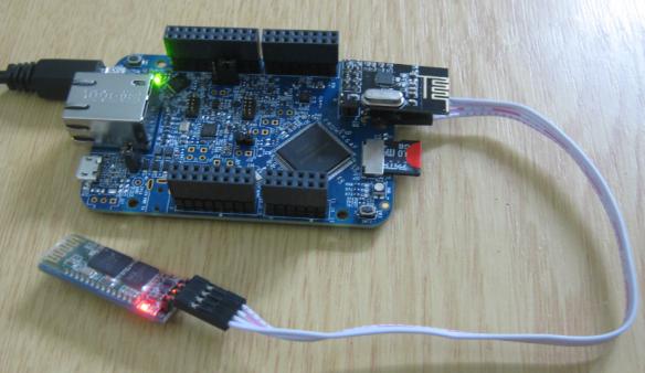 FRDM-K64F with SD, nRF24L01+ and HC-06 Bluetooth
