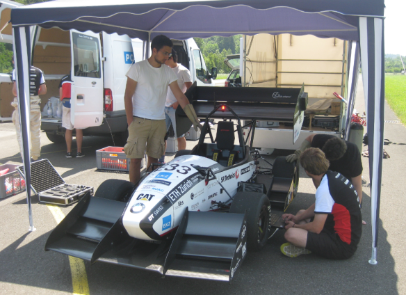 grimsel electrical formula student car