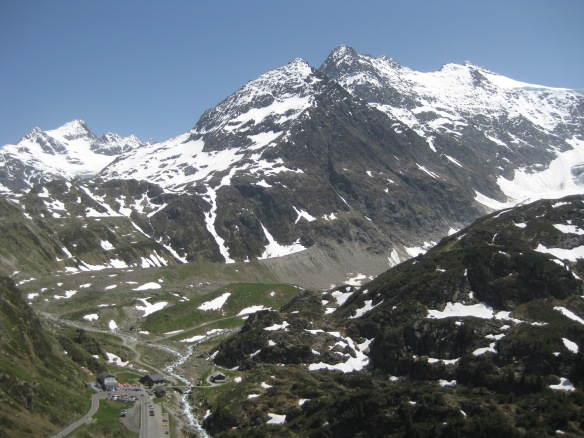 Lower Steingletscher area