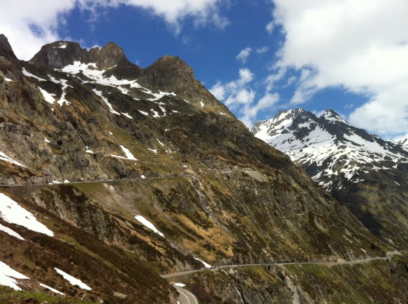 Mountain Road to the Susten Pass