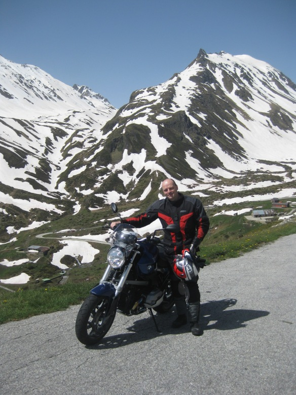 On the way to Nufenen Pass