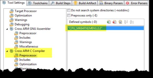 Preprocessor Setting to Specify the SDK Derivative