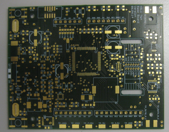 Robot Board Top Side