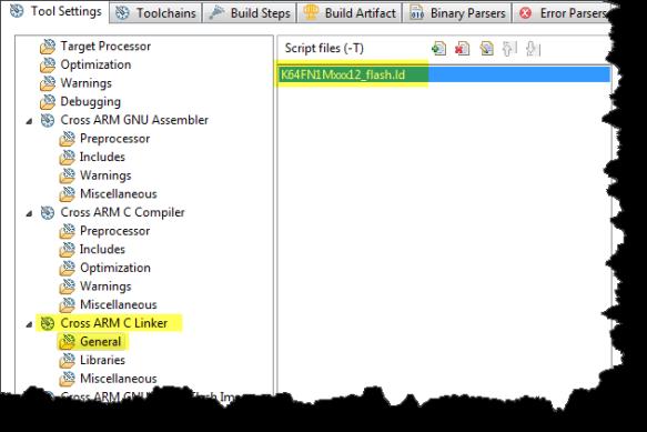 SDK Linker File