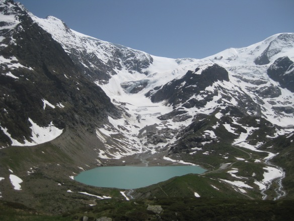 Steingletscher with Glacier Lake