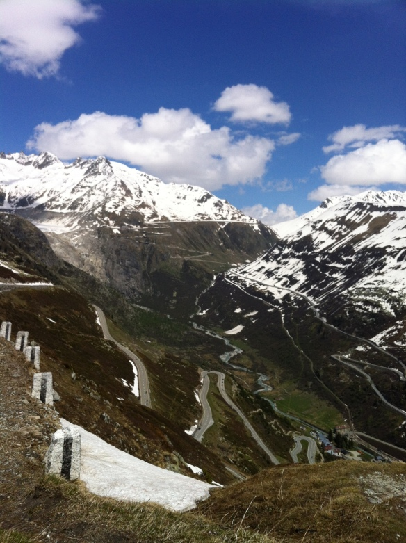View from Grimsel to Furka