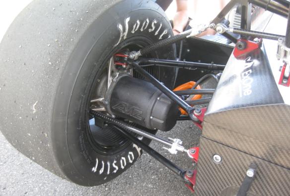Wheel with motor