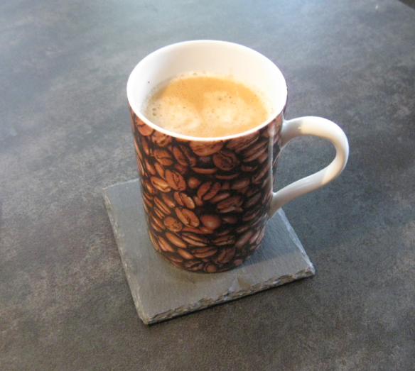 Double-Double Espresso on Small Countertop
