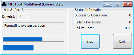 Formatting SystemPartition