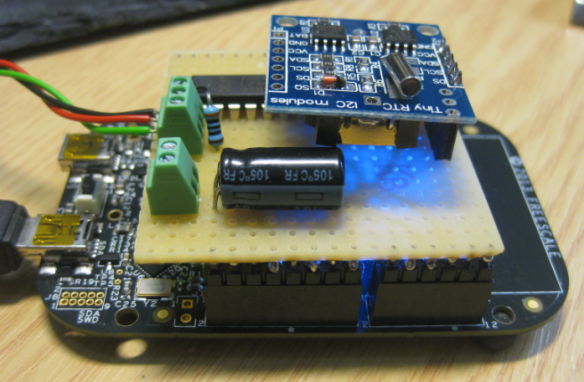 FRDM-KL25Z Board with the shield