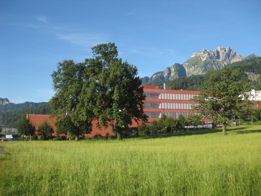 Hochschule Luzern with Pilatus