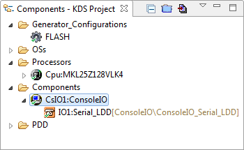 KDS Project with ConsoleIO component