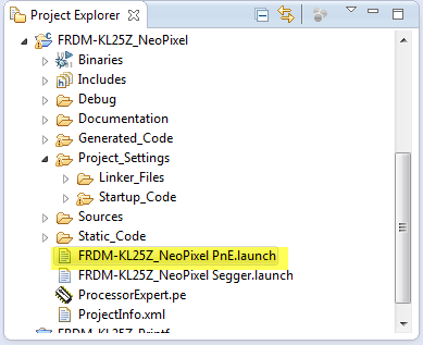Launch Configuration Files in Eclipse