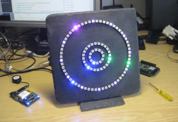 Neopixel WS2812 Clock