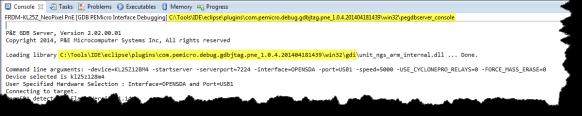 P&E GDB Server Location