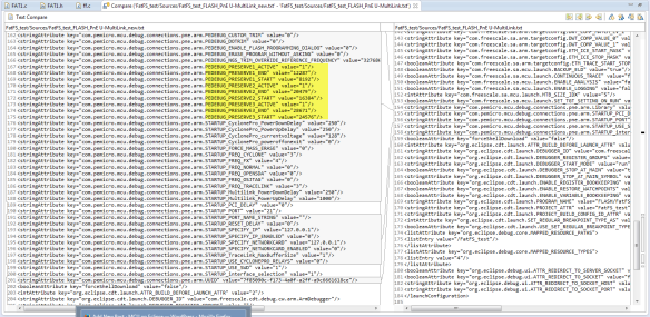Preservation Values in Launch Configuration File