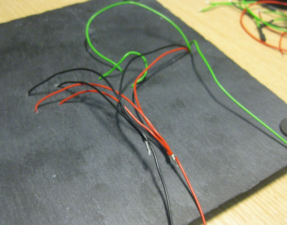 Soldered Power Supply Wires