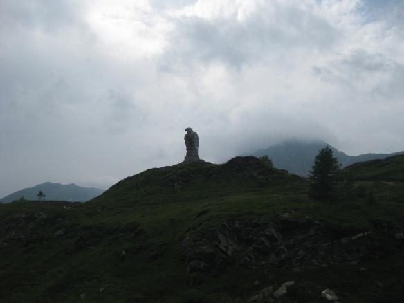 Stone Eagle on Simplon