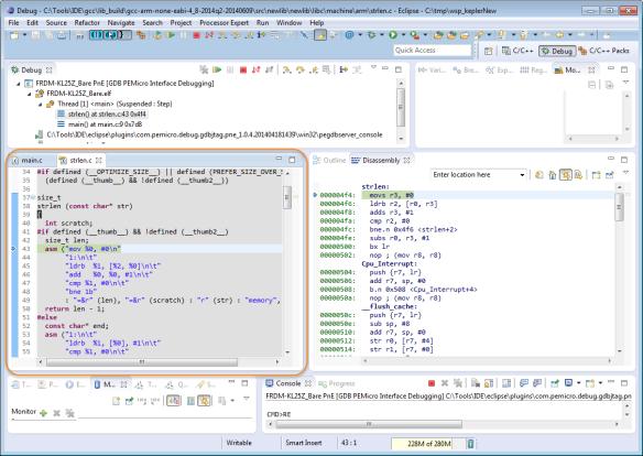GNU Libs with Debug Information: Rebuilding the GNU ARM