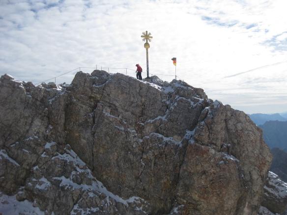 Peak of Zugspitze