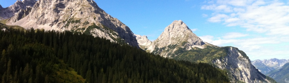 Trail towards the Sonnenspitze