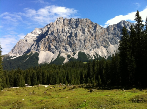 Zugspitze from the South