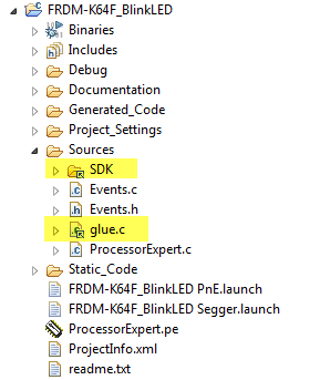 Linked Folder and File in Eclipse