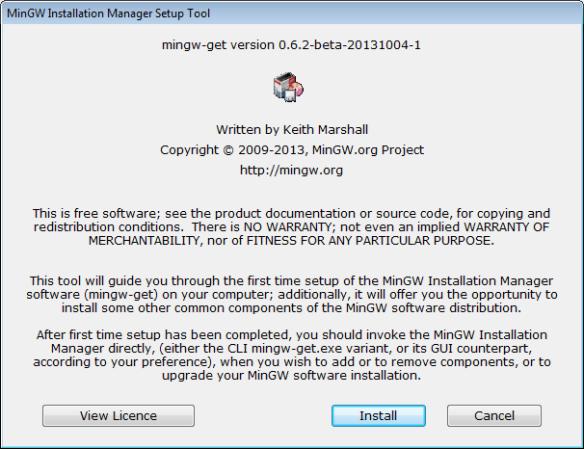 MinGW Installer