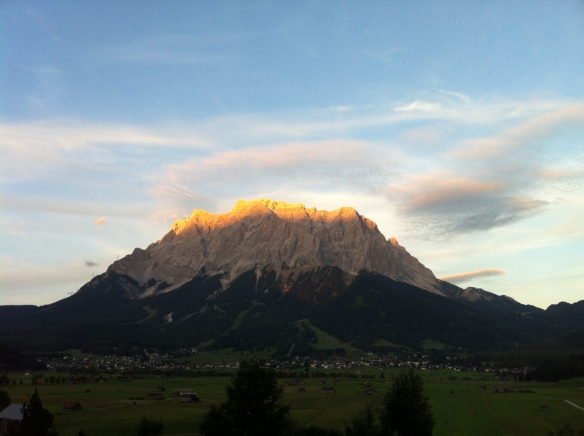 Zugspitze Sunset