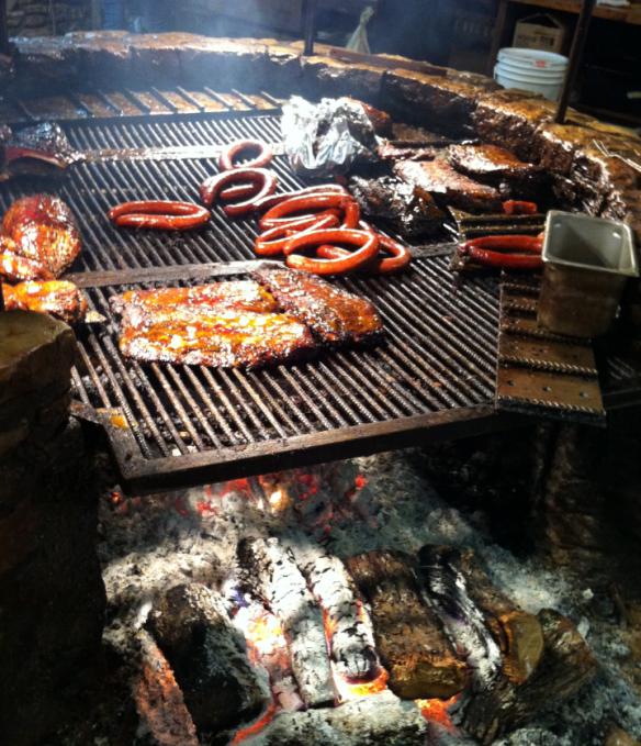 BBQ Pit in Austin Texas