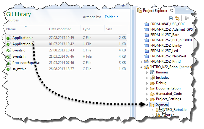 How to Add Existing Files to Eclipse Projects   MCU on Eclipse