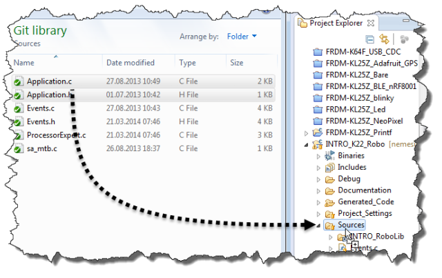 How to Add Existing Files to Eclipse Projects | MCU on Eclipse