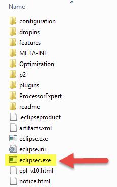 Eclipsec program, a command line version of Eclipse