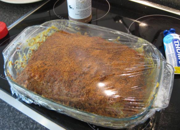 Brisket Marinated and Covered