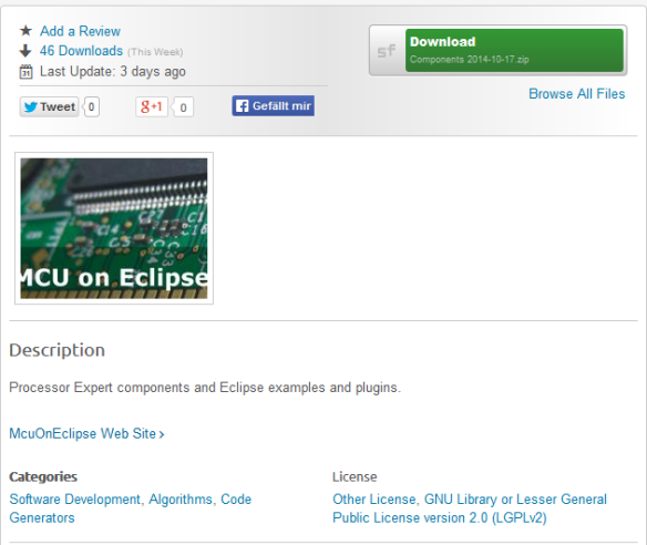 McuOnEclipse On SourceForge