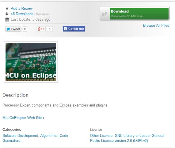 McuOnEclipse On SourceForge