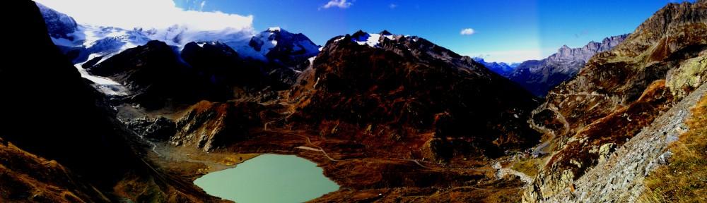Steingletscher mit Steinsee
