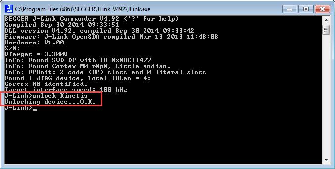 Unlocking and Erasing FLASH with Segger J-Link | MCU on Eclipse