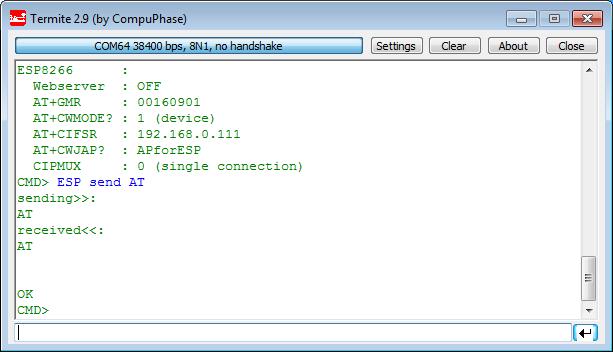 Tutorial: Web Server with the ESP8266 WiFi Module | MCU on Eclipse