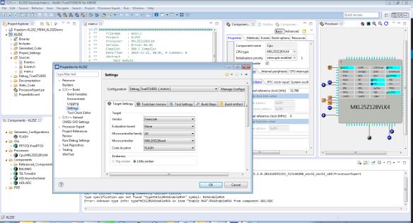 Atollic TrueSTUDIO with Processor Expert Project