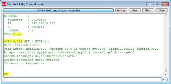 Tutorial: Web Server with the ESP8266 WiFi Module - DZone IoT