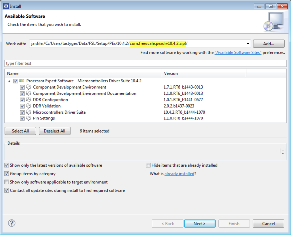 Installing 10.4.2 Update
