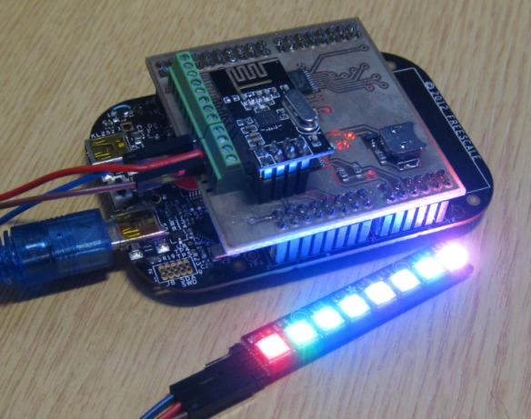 NeoPixel Shield for FRDM Boards